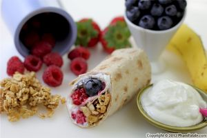 Breakfast Wrap Sandwich Recipe