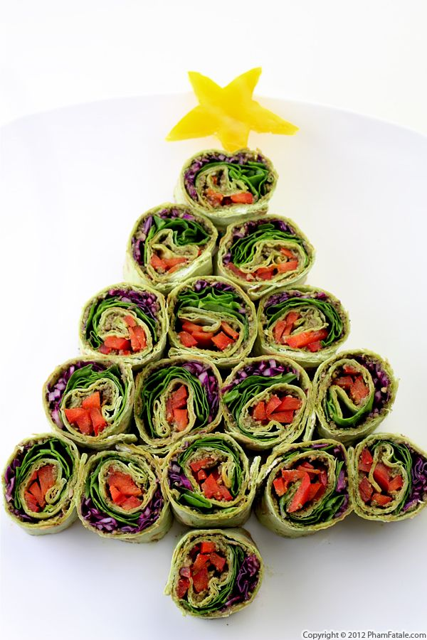 Christmas Pinwheel Appetizer Recipe Recipe