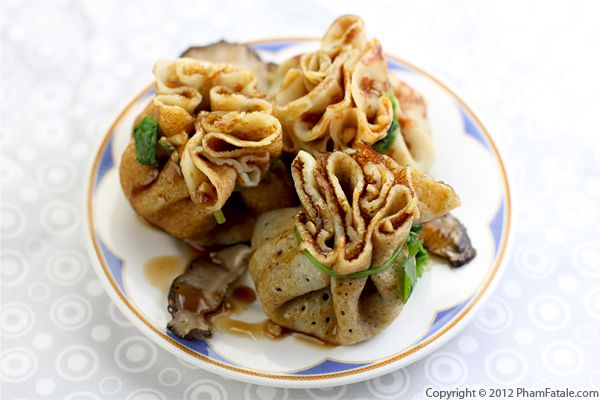 Mushroom Crepe Recipe (Crepe Forestiere) Recipe