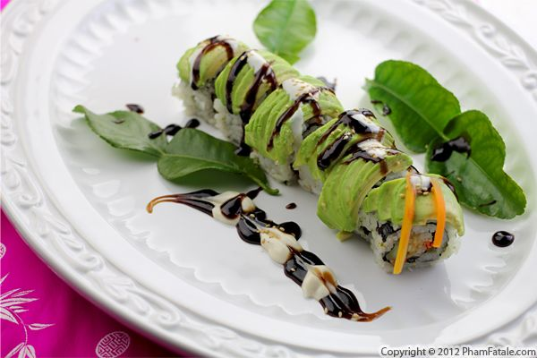 Avocado Sushi Recipe with Picture