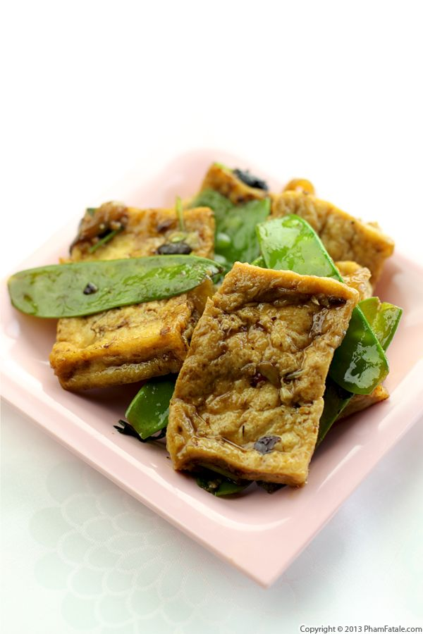 Black Bean Tofu Recipe Recipe