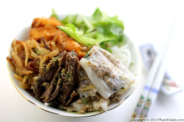 Bun Bo Nuong Recipe (Vietnamese Beef Noodle Bowl) Recipe