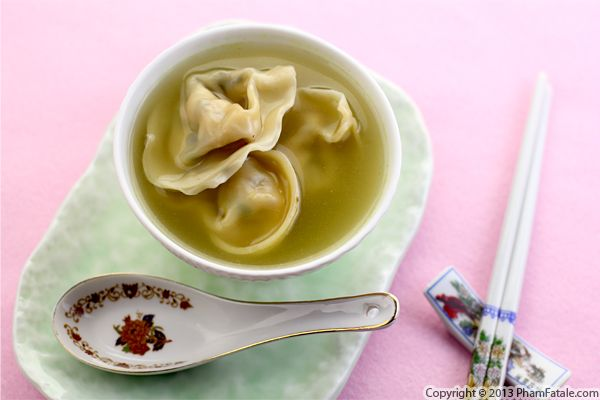 Tet Celebrations: Canh Hoanh Thanh (Wonton Soup Recipe) Recipe