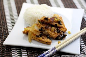 Wood Ear Mushroom and Tofu Stir Fry Recipe