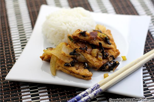 Wood Ear Mushroom and Tofu Stir Fry Recipe Recipe