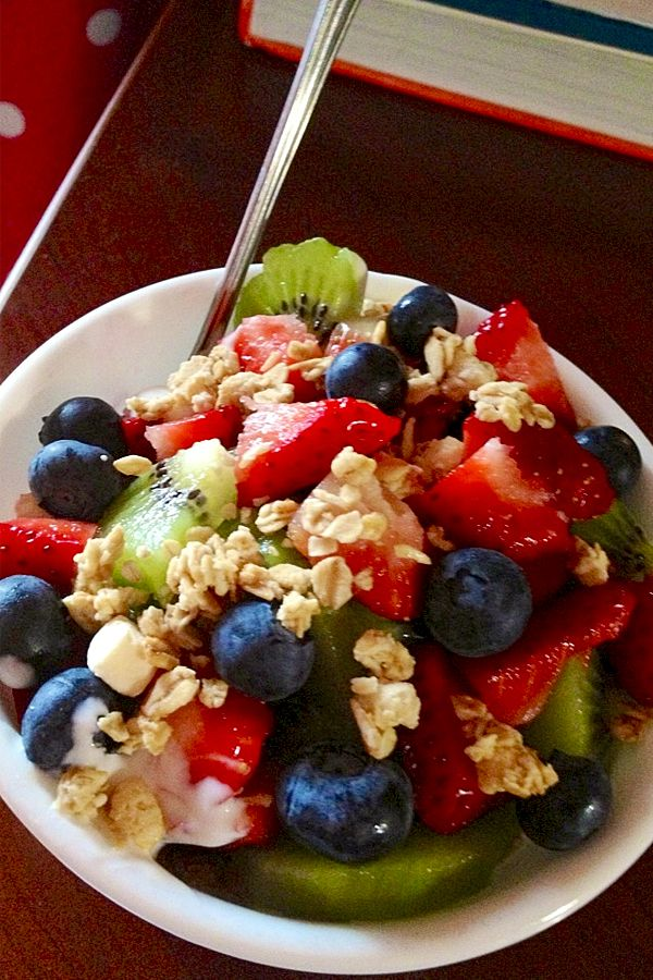Granola, Berry & Yogurt Parfait Recipe Recipe