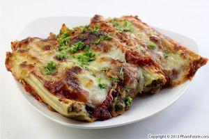 Mushroom Manicotti Pasta Recipe
