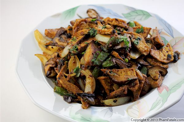 Mushroom Tofu Stir Fry Recipe Recipe