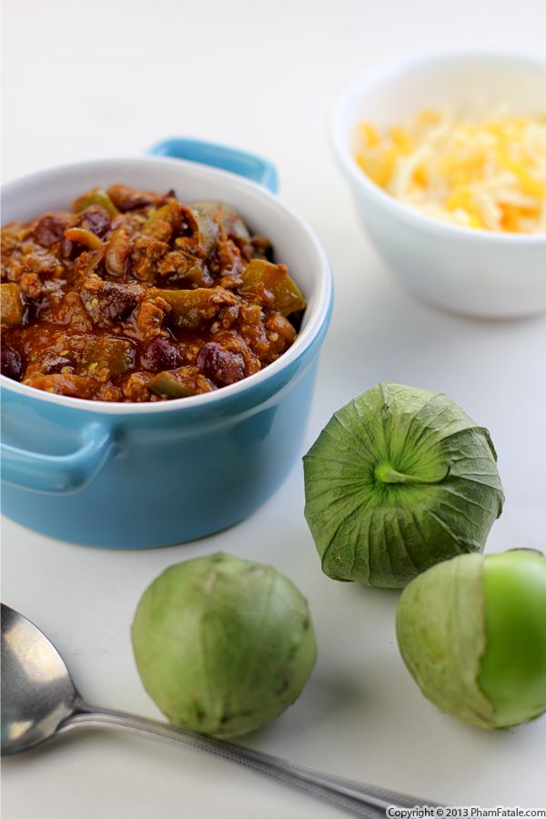 Vegetarian Chili Verde Recipe Recipe