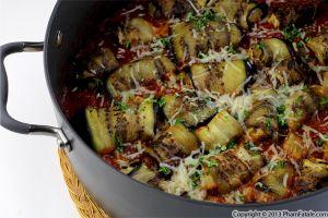 Eggplant Marinara Recipe