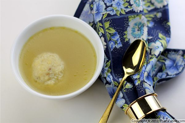 Vegetarian Matzo Ball Soup Recipe Recipe