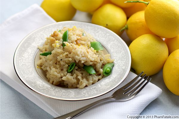 Meyer Lemon Risotto Recipe Recipe