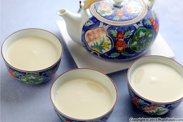 How To Make Soymilk Recipe