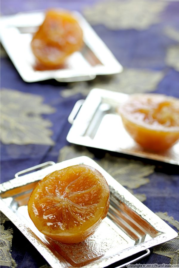 Citron Confit Recipe (Candied Lemons) Recipe