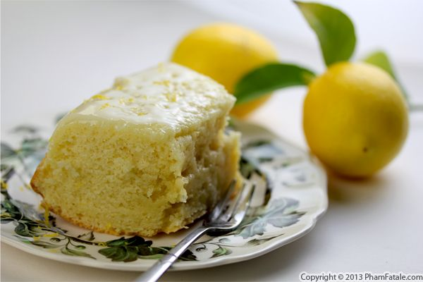 Meyer Lemon Yogurt Cake Recipe Recipe