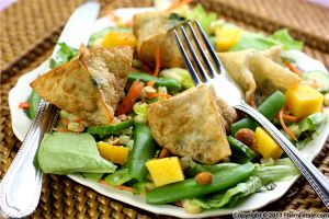 Spinach Purse Salad Recipe
