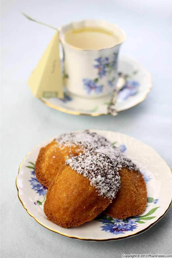 Coconut Madeleine Recipe Recipe