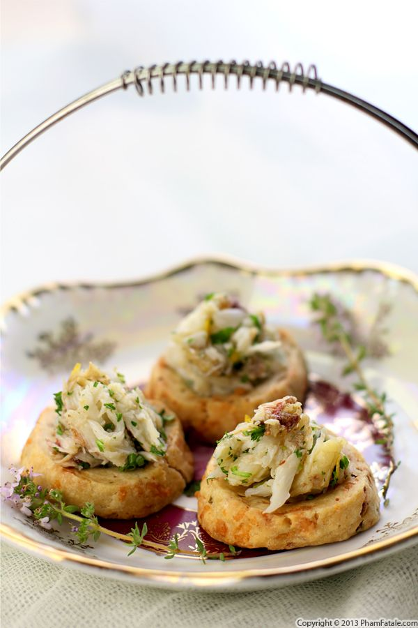 Crab Appetizers (Savory Cheese Cookies)  Recipe