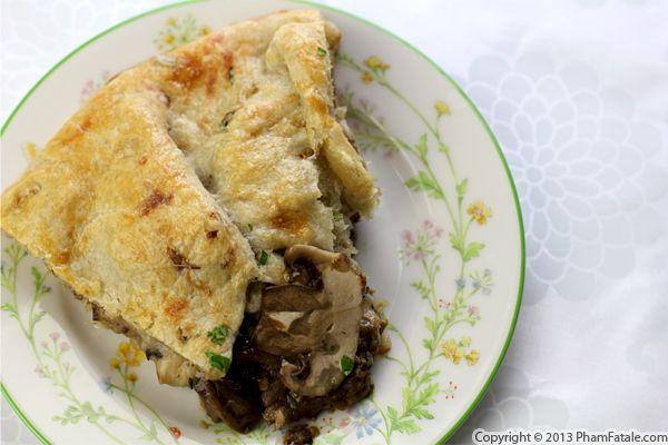 Mushroom Crostata Recipe Recipe