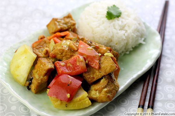 Coconut Curry Tofu Recipe Recipe