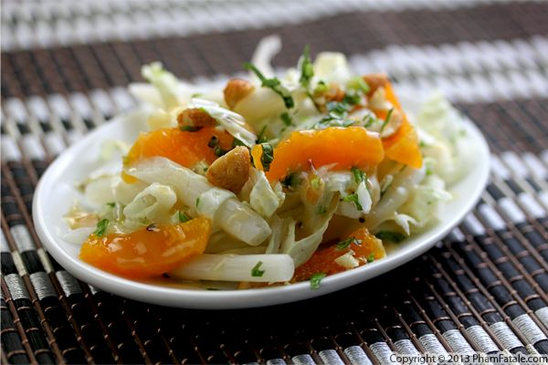 Chinese Cabbage and Lotus Salad Recipe Recipe