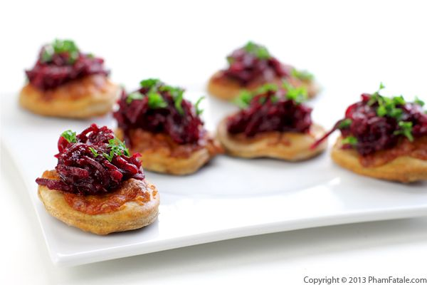 Spicy Beet Pizza Appetizer Recipe Recipe