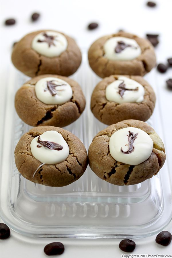 Mocha Thumbprint Cookie Recipe Recipe
