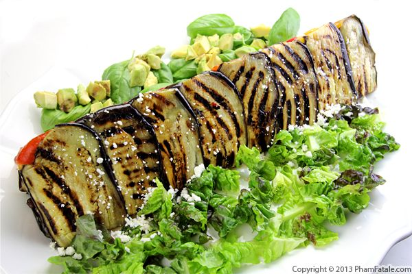 Grilled Vegetable Terrine Recipe with Picture