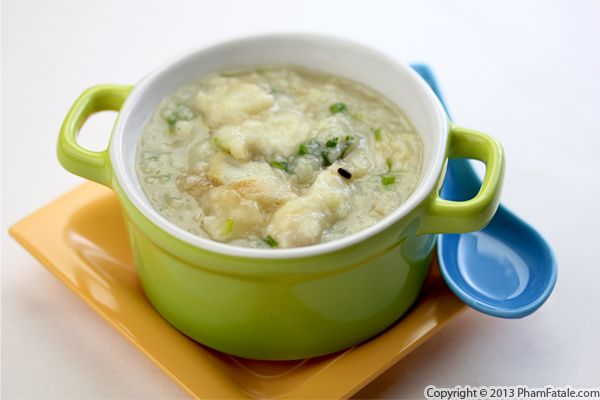 Chao Ca Recipe (Fish Congee) Recipe