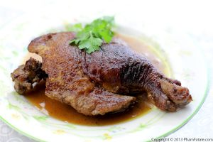 Red Wine Braised Duck Leg Recipe
