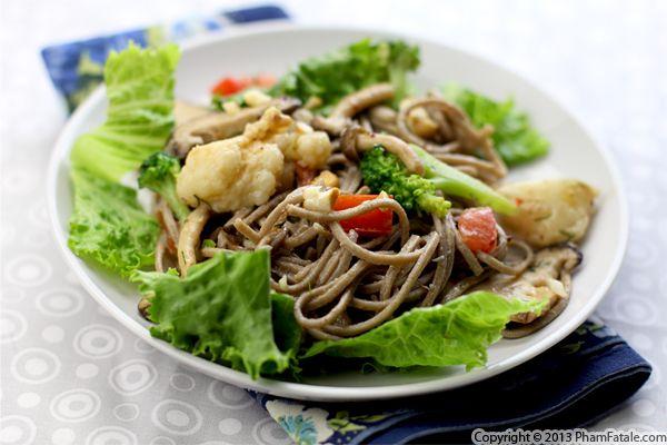 Soba Noodle Salad Recipe Recipe