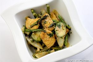 Asparagus and Zucchini Tofu Recipe