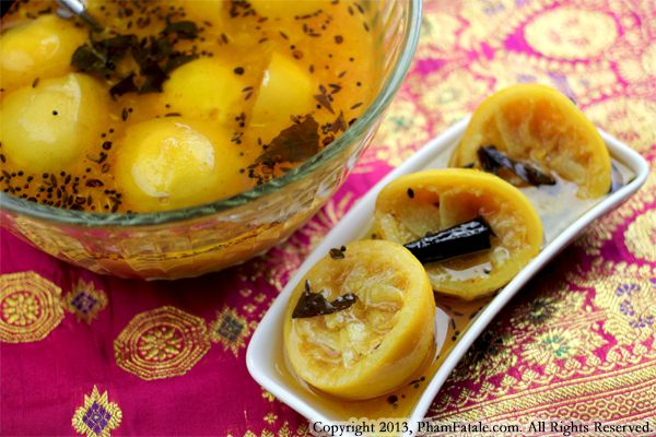 Nimbu Ka Achar (Indian Lemon Pickle Recipe) Recipe
