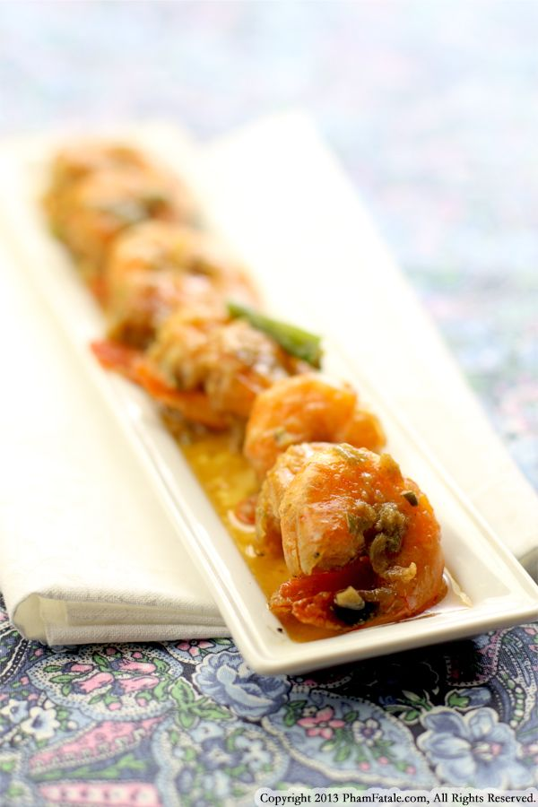 Vietnamese Shrimp in Caramel Sauce (Tom Kho Recipe) Recipe
