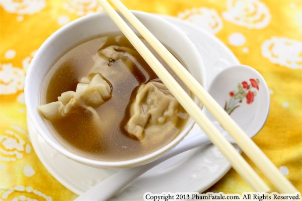 Canh Bi Do (Pumpkin Wonton Soup Recipe) Recipe