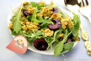 Savory Granola Salad Topping Recipe