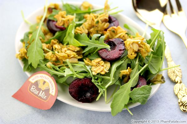 Savory Granola Salad Topping Recipe Recipe