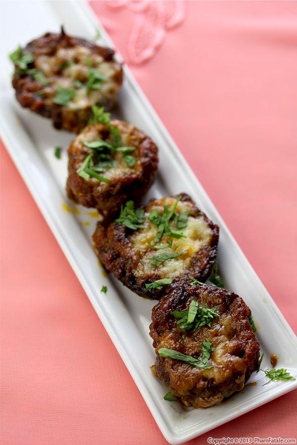 Paneer Masala Mushroom Appetizers Recipe