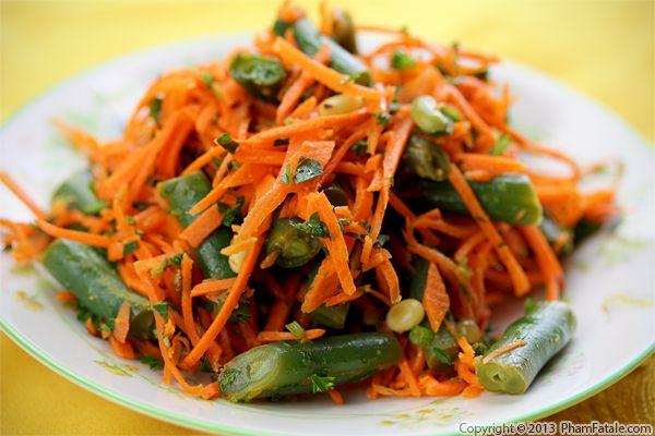 French Carrot Salad Recipe (Carottes Rapées) Recipe