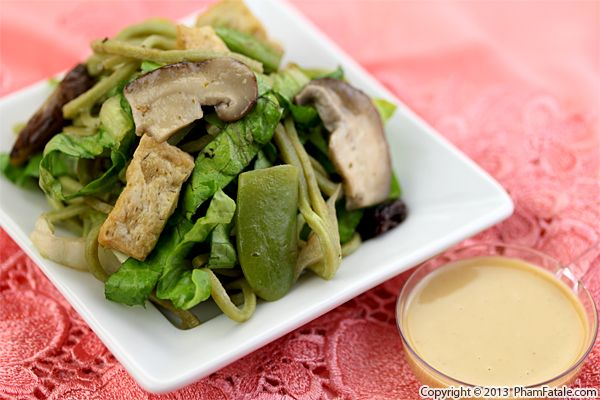 Spinach Noodle Salad Recipe Recipe