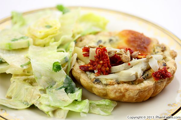 Artichoke and Spinach Tart Recipe Recipe
