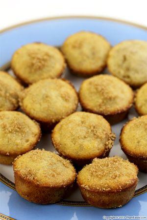 Cardamom and Banana Muffins