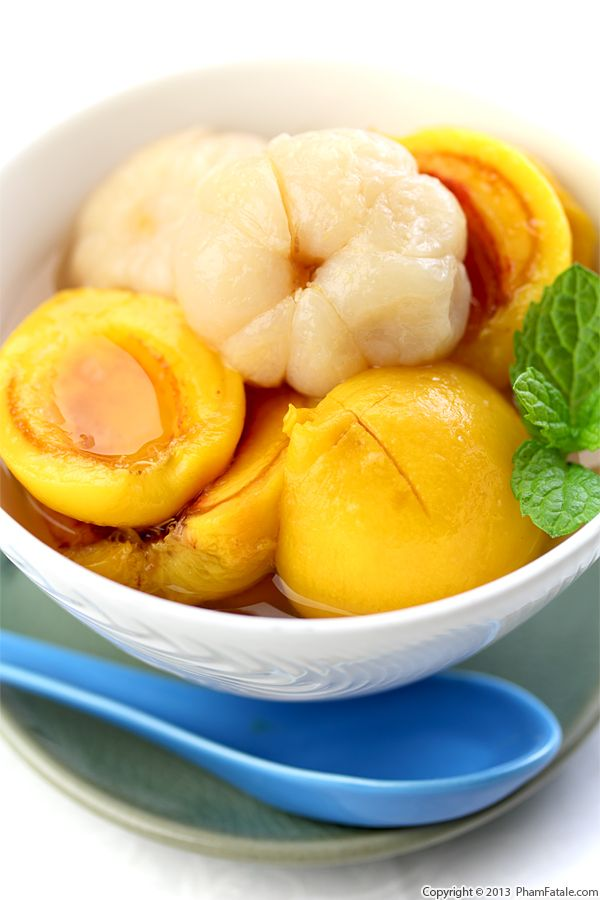 Chilled Peach Soup Recipe Recipe