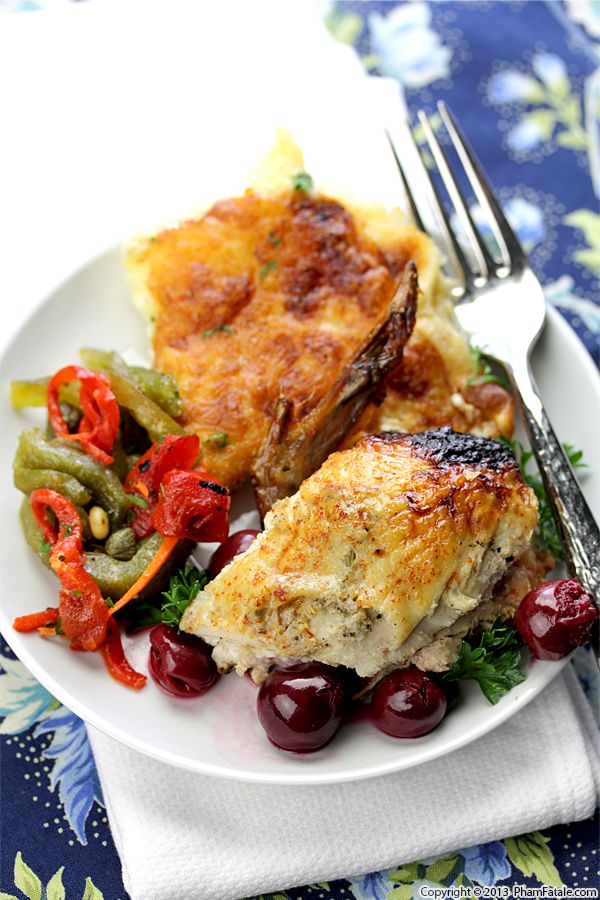 Cherry Roasted Chicken Recipe Recipe