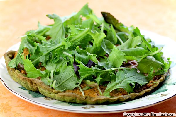 Bell Pepper Ricotta Pesto Tart Recipe Recipe