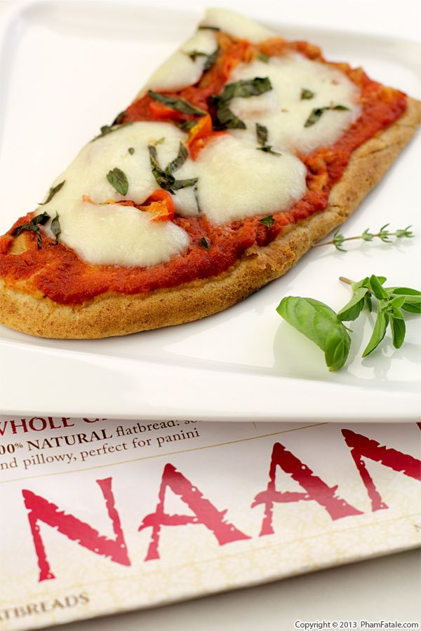 Grilled Naan Margherita Pizza Recipe Recipe
