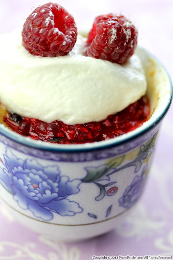 Raspberry Pot de Creme Recipe Recipe