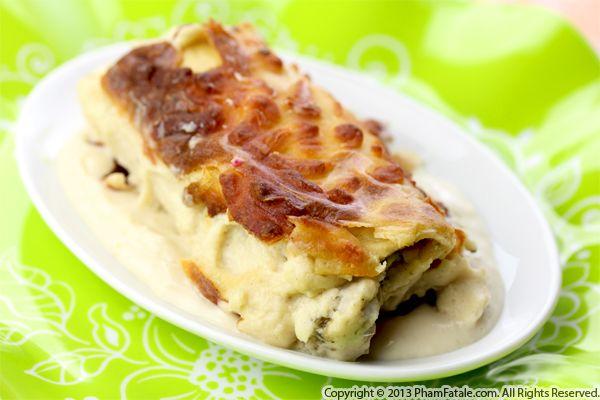 Cauliflower Asparagus Manicotti Pasta Recipe Recipe