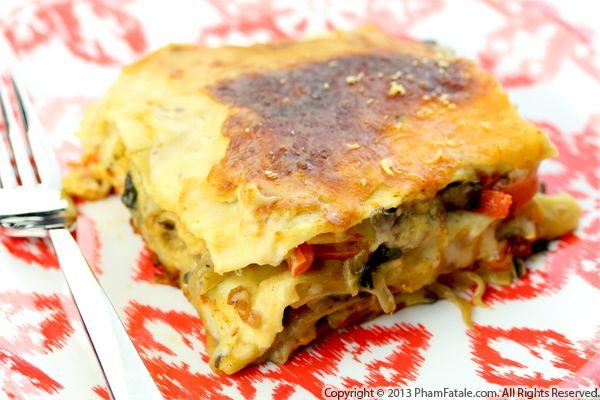 Lasagna Primavera Recipe Recipe