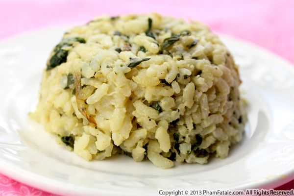 Creamy Spinach Risotto Recipe Recipe